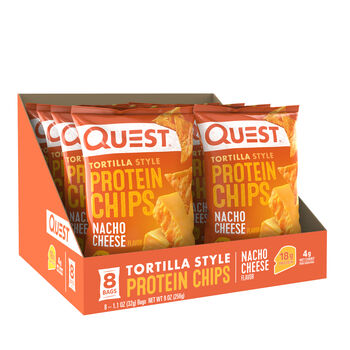 Tortilla Style Protein Chips - Nacho CheeseNacho Cheese | GNC