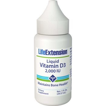 Liquid Vitamin D3 2,000 IU | GNC