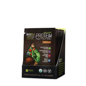 Organic Protein Vegan Protein Shake - Chocolate | GNC