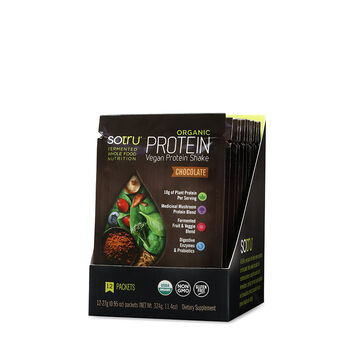 Organic Protein Vegan Protein Shake - Chocolate   GNC