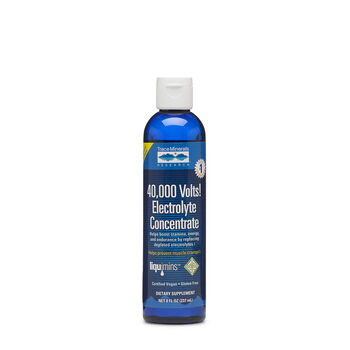 40,000 Volts! Electrolyte Concentrate   GNC