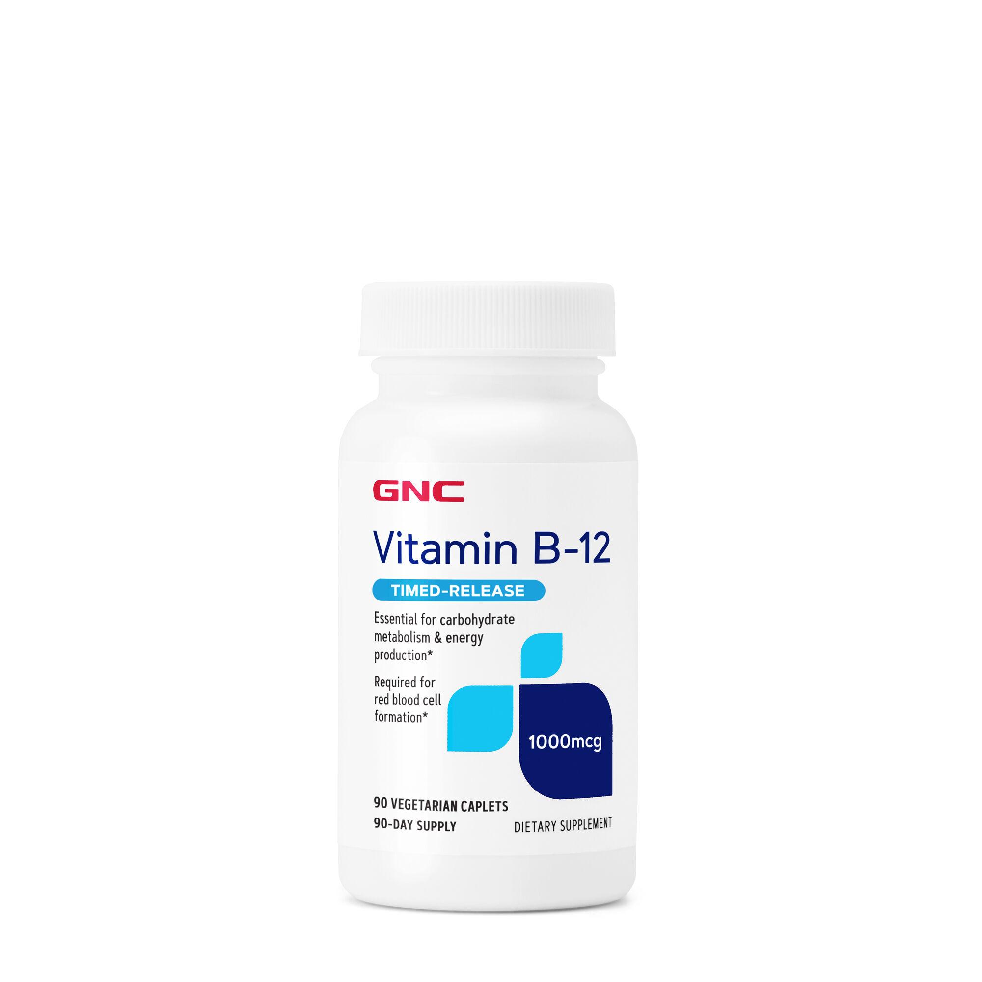 GNC Vitamin B-12 1000 mcg   GNC