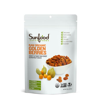 Raw Organic Golden Berries | GNC