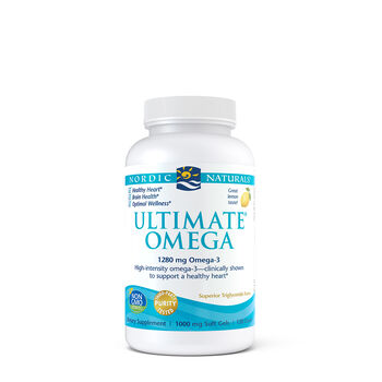Ultimate® Omega 1280 mg of Omega-3 | GNC