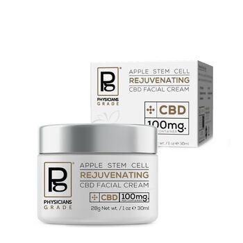 Apple Stem Cell Rejuvenating CBD Facial Cream | GNC