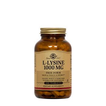 L-Lysine 1000mg | GNC