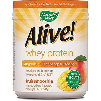 Alive!® Whey Protein - Mango CremeMango Creme | GNC