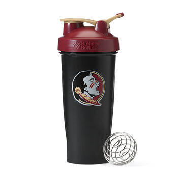 Collegiate Shaker Bottle- FSUFSU - Black | GNC
