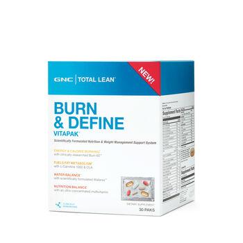 Burn and Define Vitapak® (California Only) | GNC