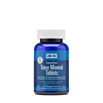 Trace Mineral Tablets | GNC