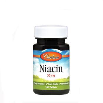 Niacin 50 mg   GNC