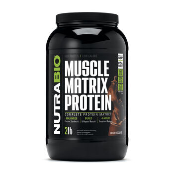 Muscle Matrix Protein - Dutch ChocolateDutch Chocolate | GNC