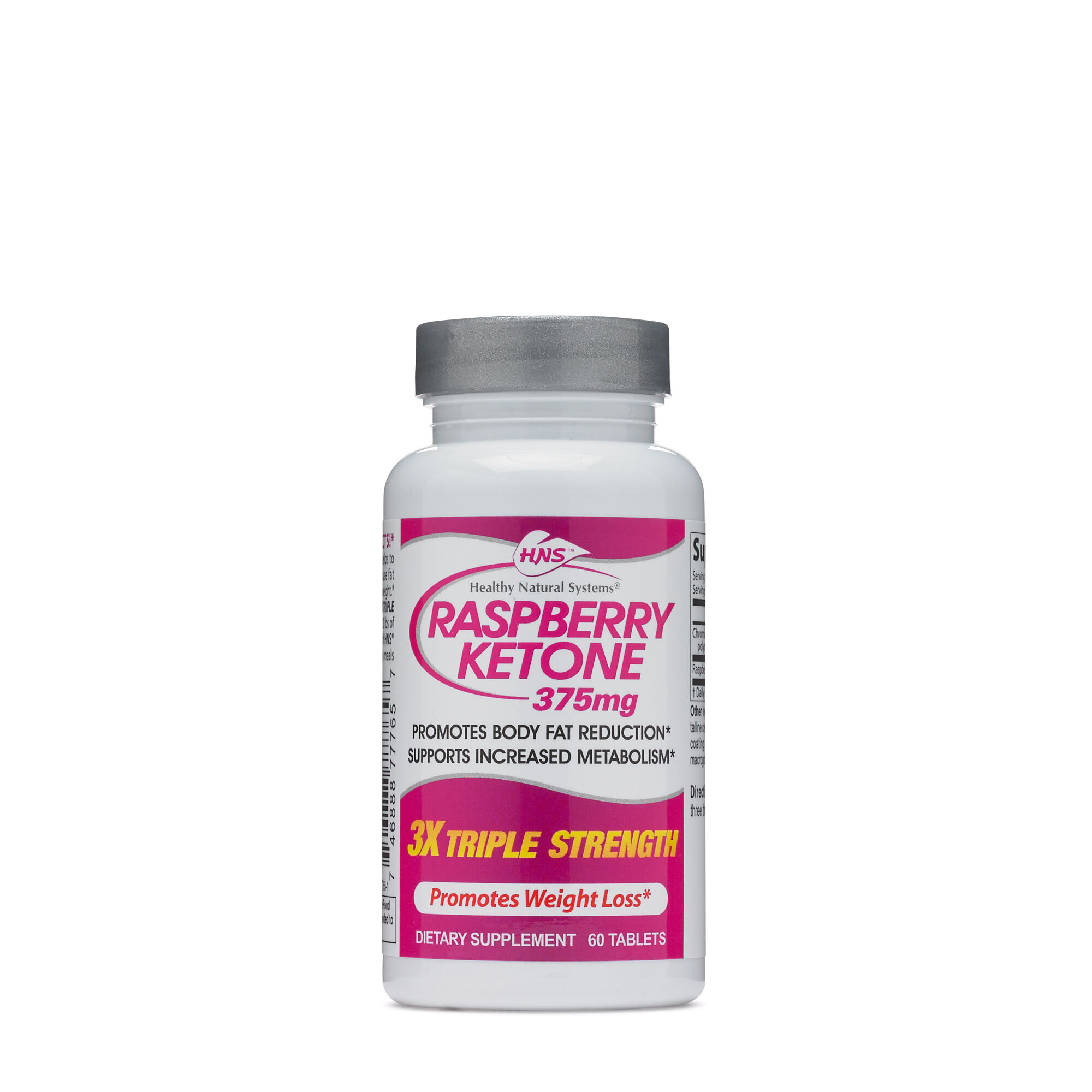 Healthy Natural Systems Raspberry Ketone 3x Triple Strength Gnc
