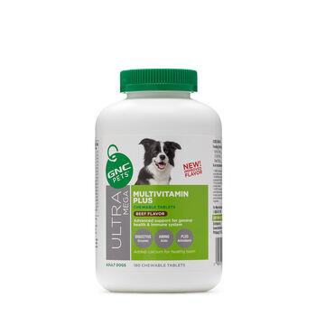 Ultra Mega Multivitamin Plus - Adult Dogs - Beef Flavor | GNC