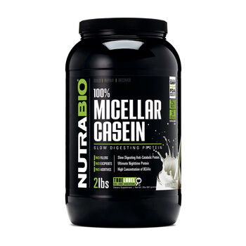 100% Micellar Casein - UnflavoredUnflavored | GNC