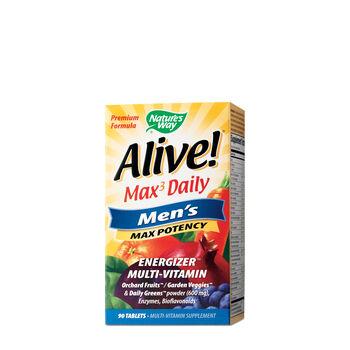 Alive!® Max3 Daily - Men's Max Potency | GNC