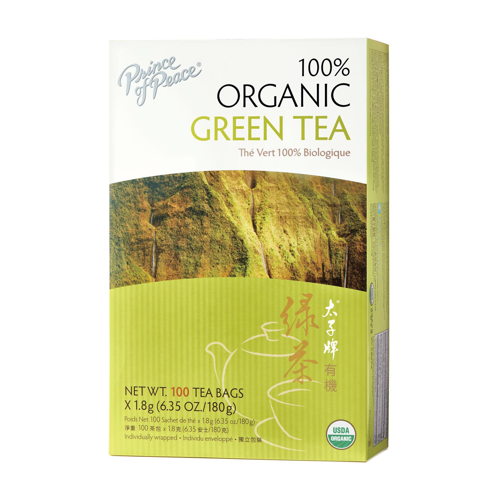 Prince of Peace® 100% Organic Green Tea