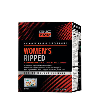 Women's Ripped Vitapak® With Metabolism + Muscle Support   GNC