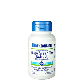 Mega Green Tea Extract - Lightly Caffeinated | GNC