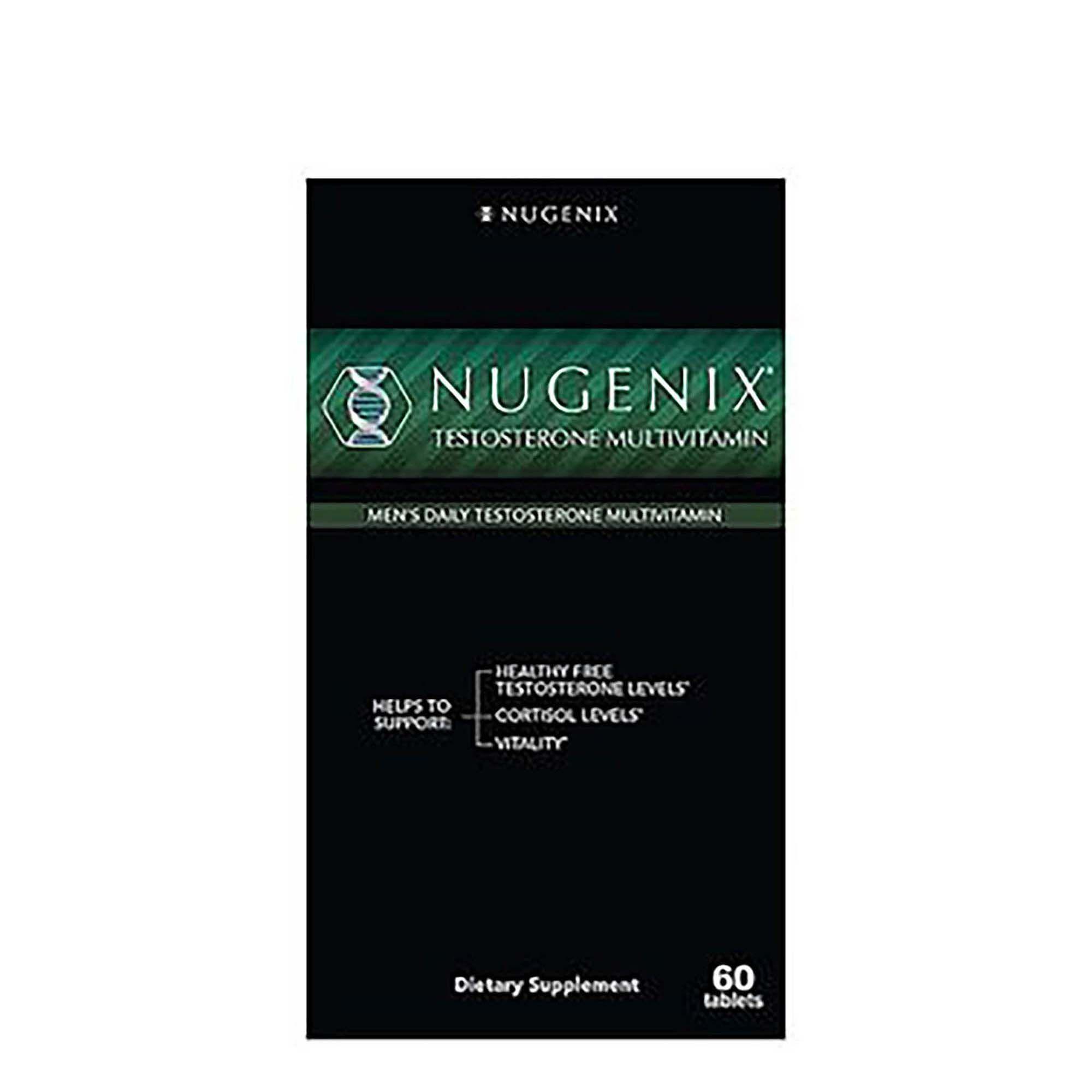 Nugenix Testosterone Multivitamin for Men Front Box