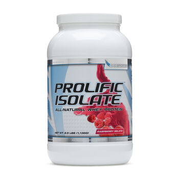 PROLIFIC™ ISOLATE - Raspberry GelatoRaspberry Gelato   GNC