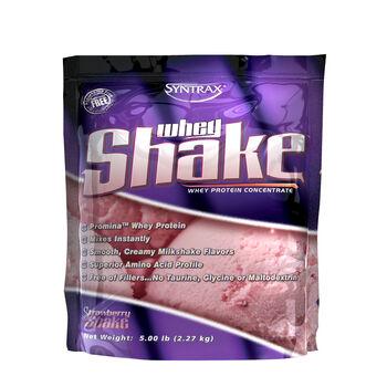 Whey Shake - Strawberry ShakeStrawberry Shake   GNC