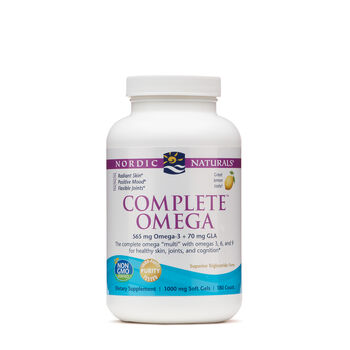 Complete™ Omega - Lemon | GNC