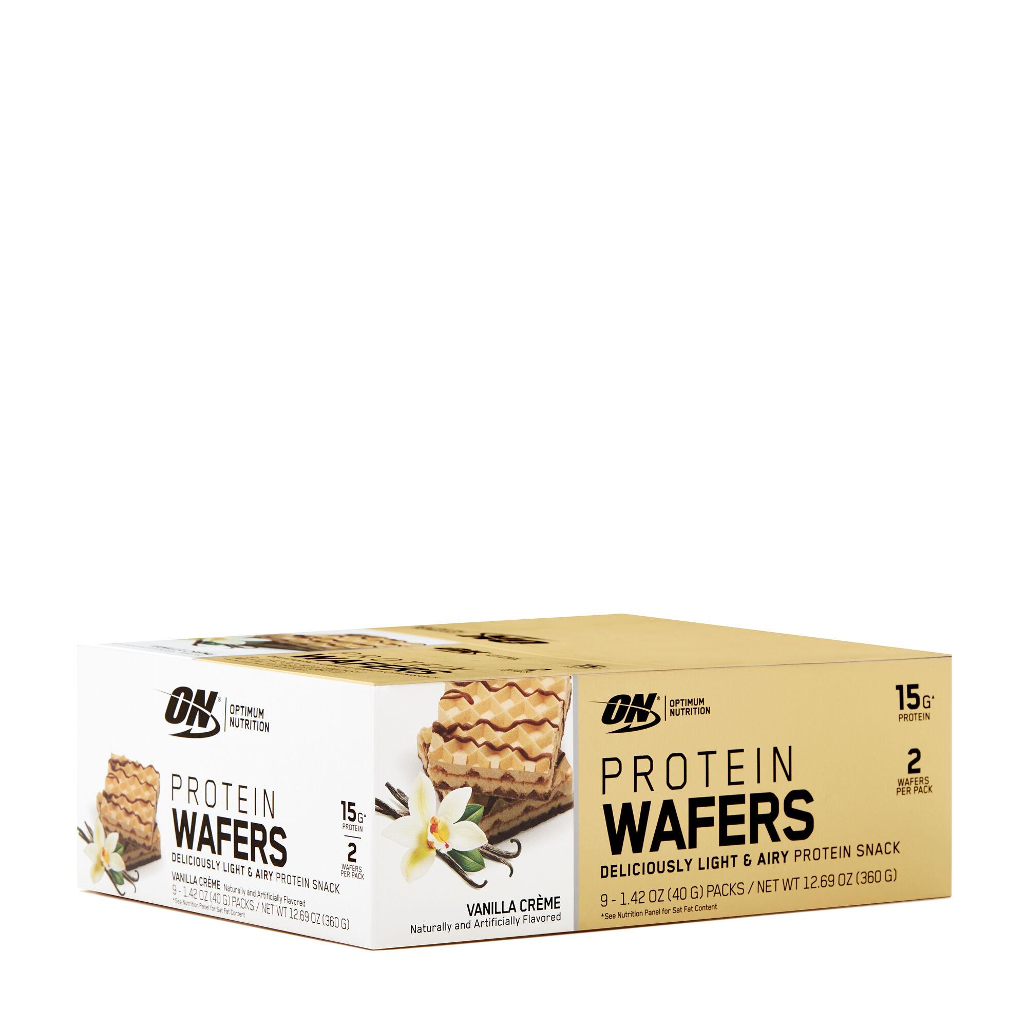 Protein Wafers - Vanilla Crème