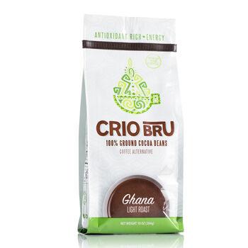 100% Ground Cocoa Beans - Ghana Light Roast   GNC