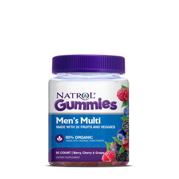 Men's Multi Gummies - Berry, Cherry and Grape | GNC