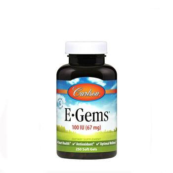 E-Gems® Natural Vitamin E - 100 IU | GNC