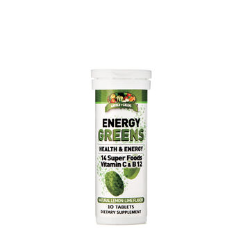 Energy Greens - Lemon-Lime Flavor | GNC