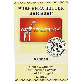 Pure Shea Butter Bar Soap - Vanilla | GNC