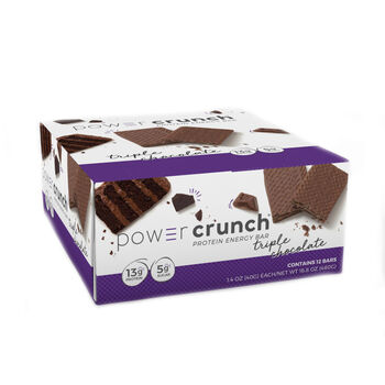 Power Crunch® - Triple ChocolateTriple Chocolate | GNC
