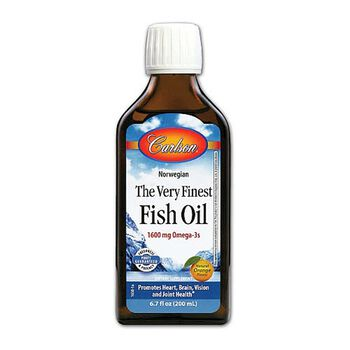 Carlson the very finest fish oil natural orange flavor for Gnc fish oil