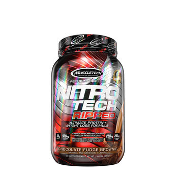 Nitro-Tech RIPPED™ - Chocolate Fudge BrownieChocolate Fudge Brownie | GNC