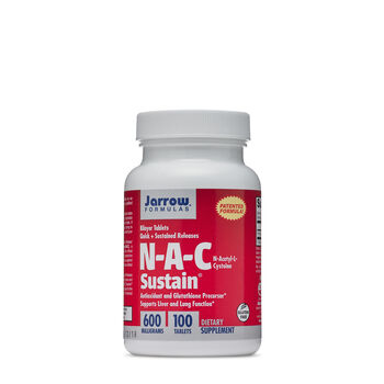 N-A-C Sustain® 600 mg | GNC