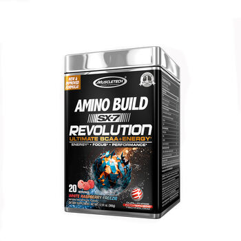 Amino Build SX-7® Revolution - White Raspberry FreezieWhite Raspberry Freezie | GNC