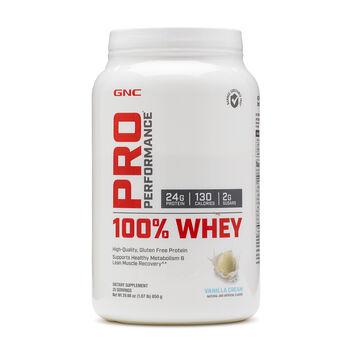 100% Whey - Vanilla CreamVanilla Cream | GNC