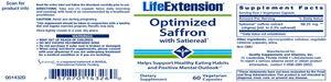 Life Extension Optimized Saffron Gnc