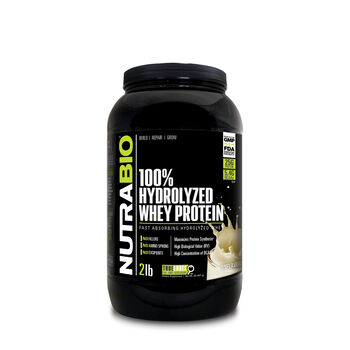 100% Hydrolyzed Whey Protein - UnflavoredUnflavored | GNC