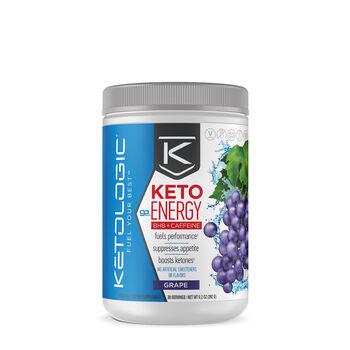 Ketologic® Keto Energy BHB + Caffeine - Grape | GNC
