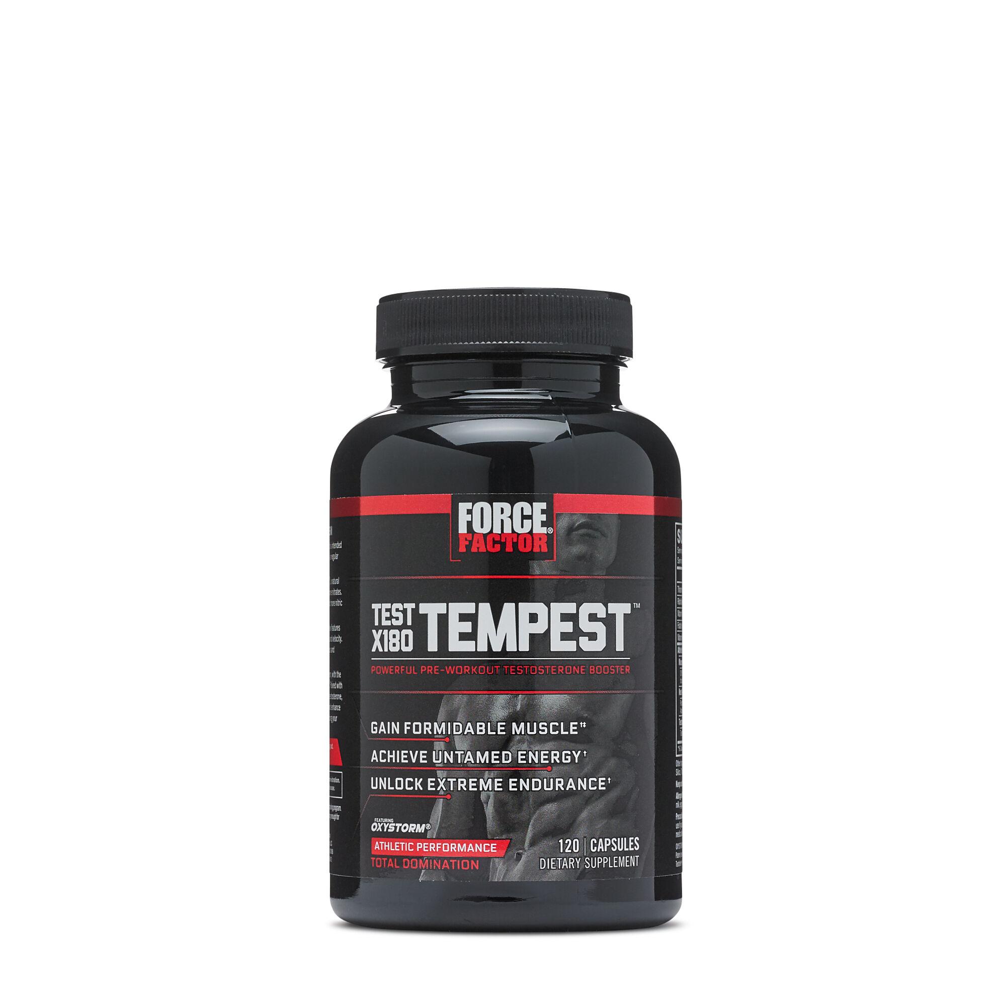 All Stars Pump Booster Test force factor® test x180 tempest™