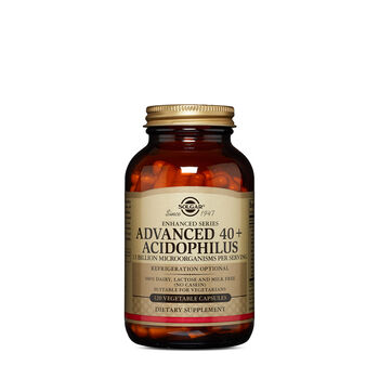 Advanced 40 + Acidophilis | GNC