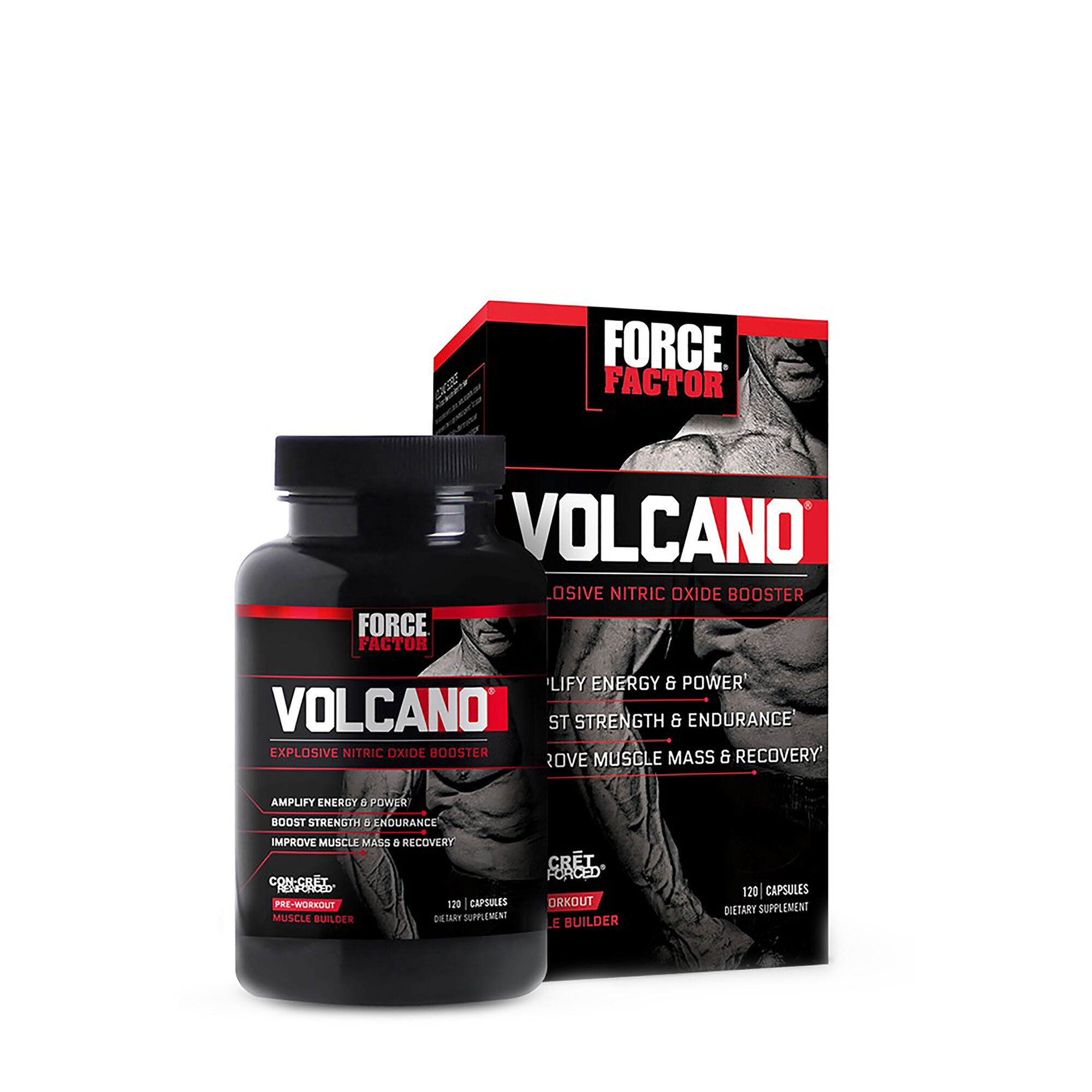 All Stars Pump Booster Test force factor® volcano™