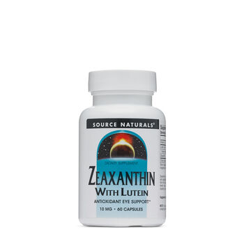 Zeaxanthin With Lutein | GNC
