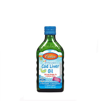 Kid's Norwegian Cod Liver Oil - Bubble Gum | GNC