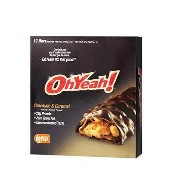 OhYeah!® Bar - Chocolate and Caramel | GNC