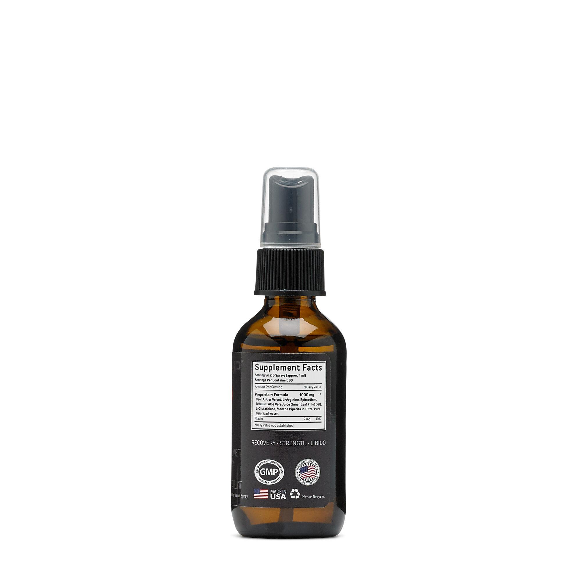 Bucked Up Deer Antler Velvet Extract Spray Igf 1