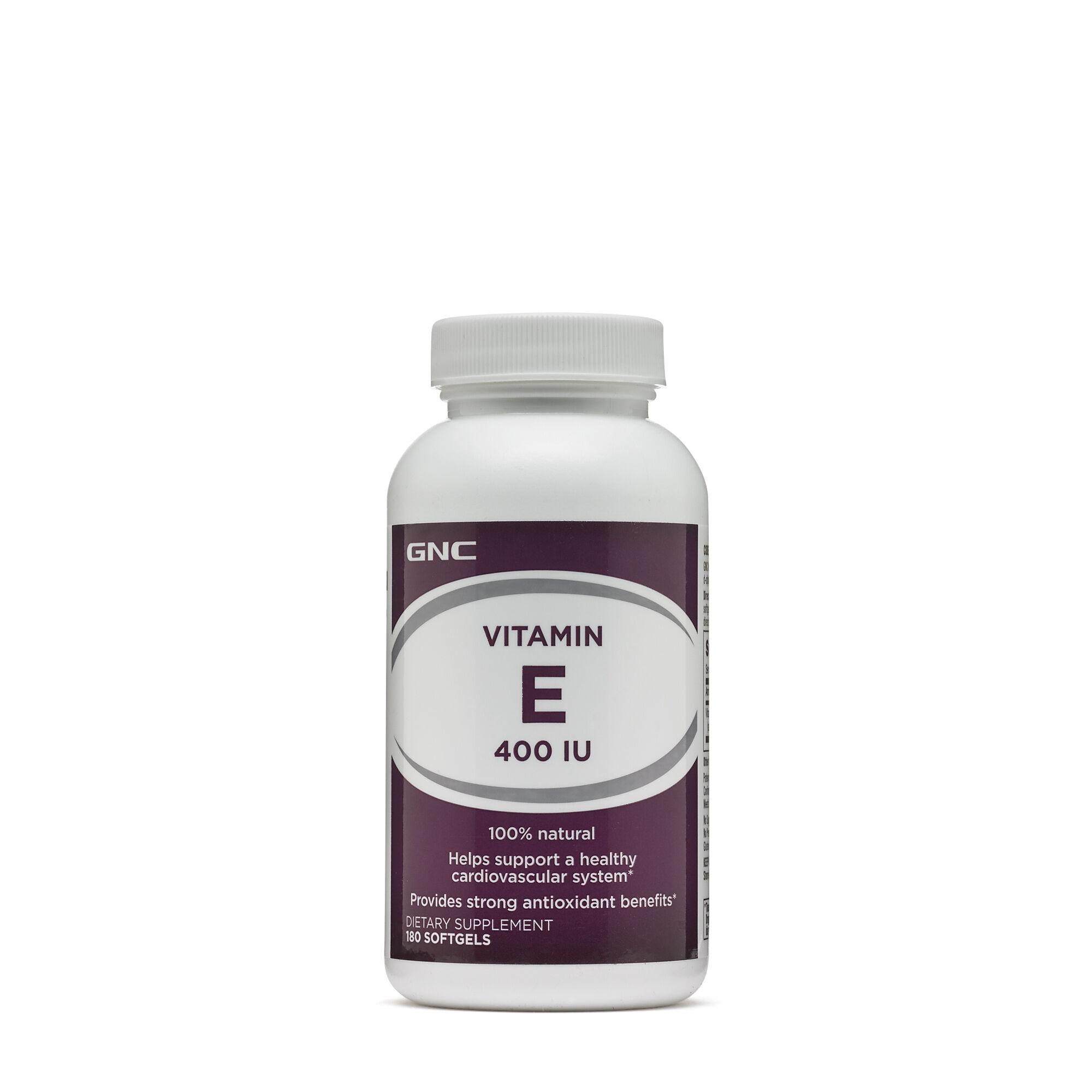 Gnc Vitamin E 400 Iu Gnc